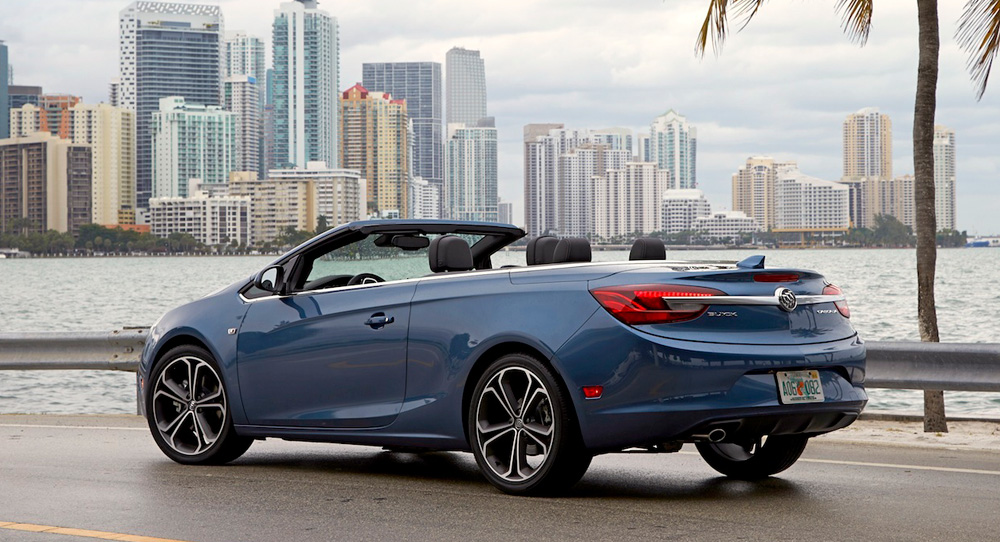 Buick Cascada tail lights - driving review from Howard Walker
