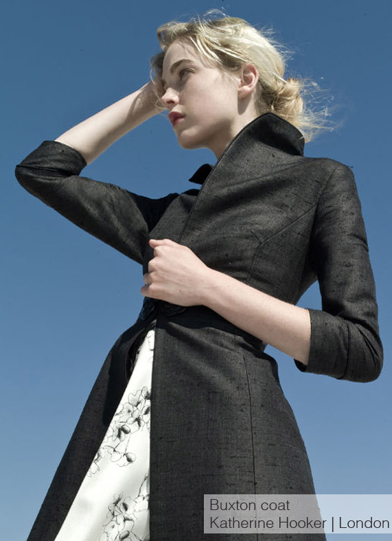 Katherine Hooker - Buxton coat - custom made, handcrafted coats and outerwear