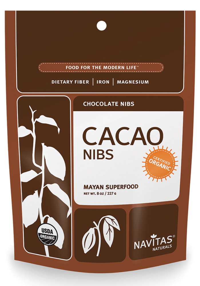 Navitas Naturals Cacao Nibs - Raw Dieting Pantry Essentials - Easy Raw: Raw Dieting Tips, Recipes & More