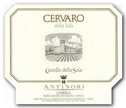 Cervaro della Sala, Chardonnay made by Antinori in Umbria