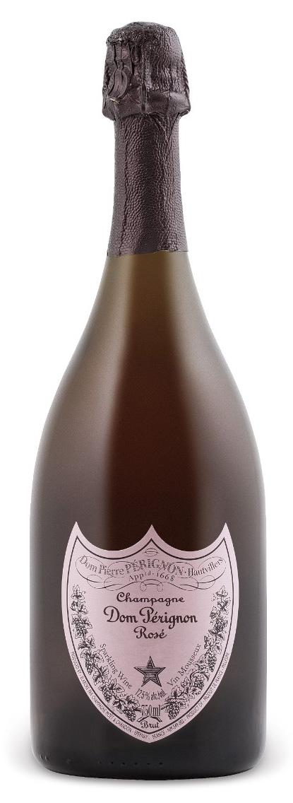 Champagne Rosé, Dom Pérignon - Valentine's Day wines - expensive bottle