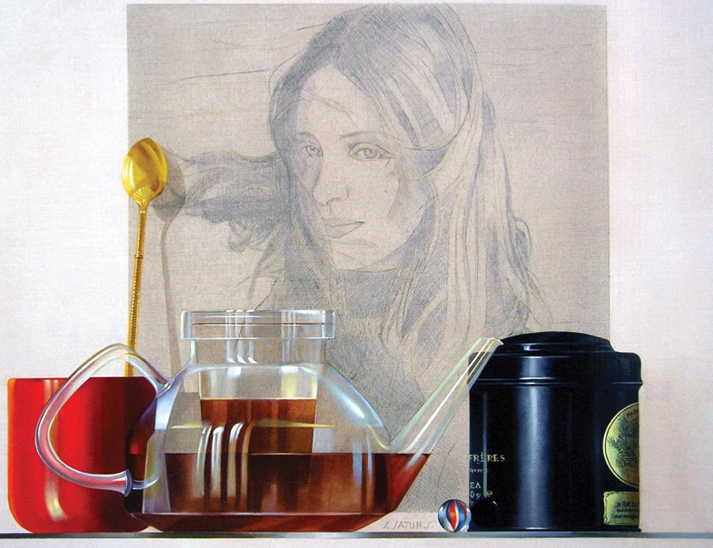 Cup of Tea, Sabine Satur - Sabine satur; Courtesy chetkin Gallery