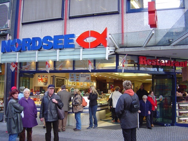 Nordsee European fast food restaurant