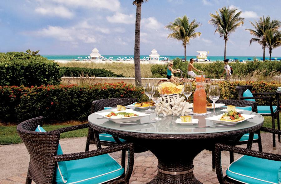 The Ritz-Carlton, South Beach - DiLido Beach Club oceanfront dining