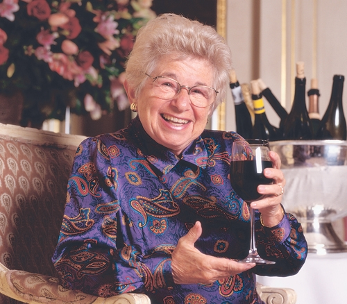 Dr. Ruth debuts line of low-alcohol wines