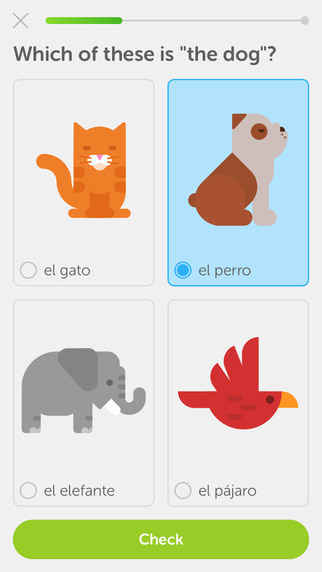 Language Learning App - Duolingo - learn a new language in 2016 - New Year's Resolution Apps