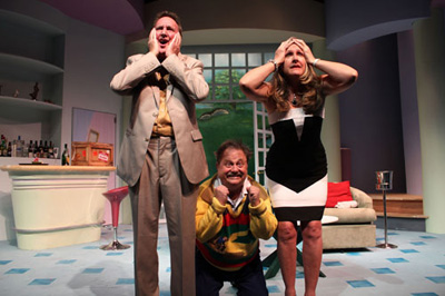 Gulfshore Playhouse, Naples, staged Ken Ludwig's Fox on the Fairway