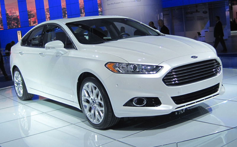 2013 Ford Fusion - The Wheel World's Top 10 from the 2012 Detroit Auto Show