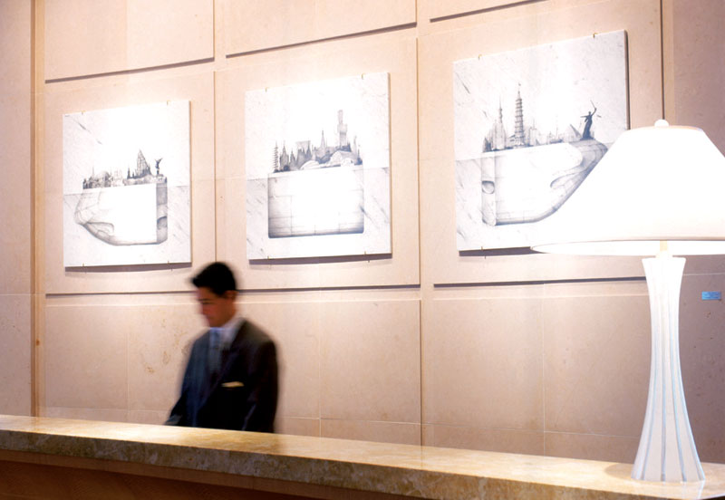 Four Seasons Hotel Miami - place to stay - art