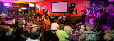 Freddie Rebel's in Naples serves sports bar favorites with great live music.