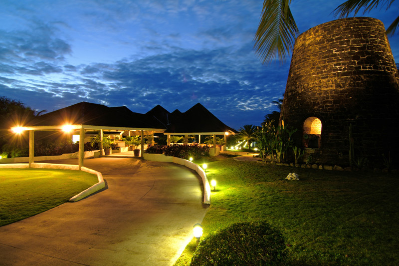 Sugarmill to reception at Galley Bay Resort & Spa - Antigua, the Caribbean's beach country