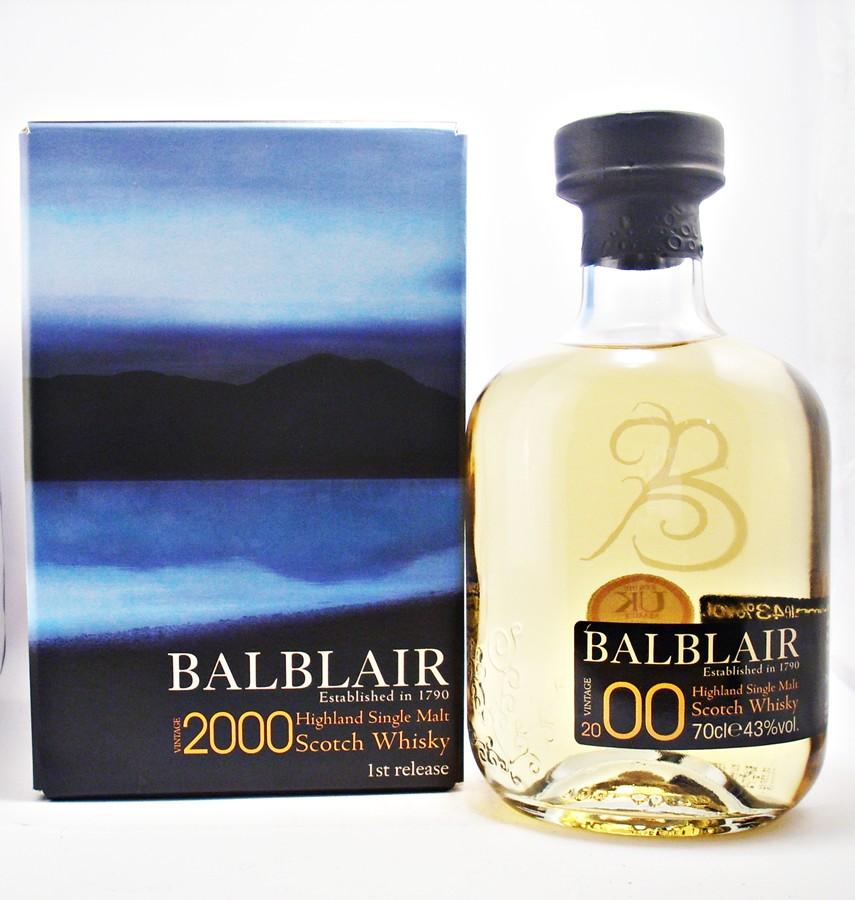 Balblair 2000 Millenium Malt