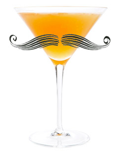 Hair Raiser cocktail - Rock and Rye - Movember cocktails - mustache-inspired drinks
