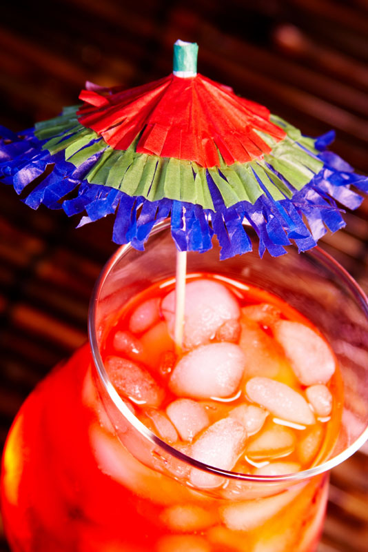 New Orleans-style Hurricane cocktail - hurricane party drinks Topical Storm Isaac - Hurricane Issac