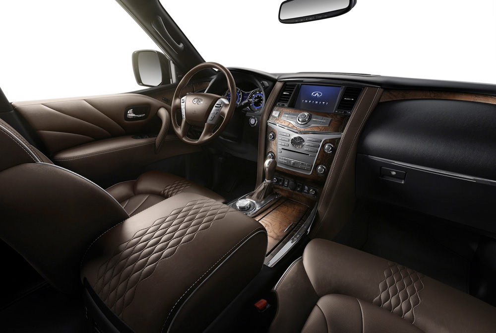 Infiniti QX80: Most-Loved XXL-Size SUV  Naples Illustrated