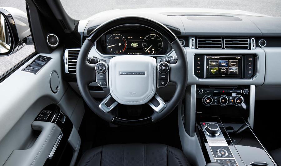 Interior of the 2016 Range Rover SPort Td6