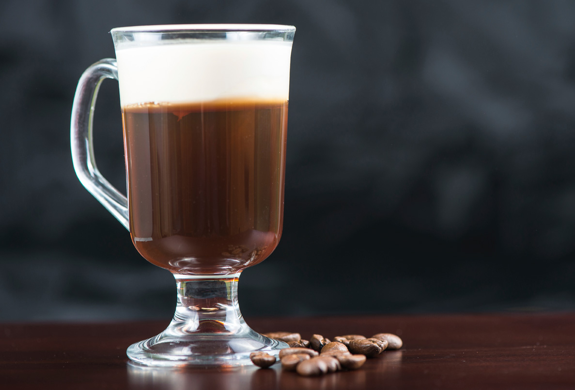 Irish Coffee, recipe for National Irish Coffee Day