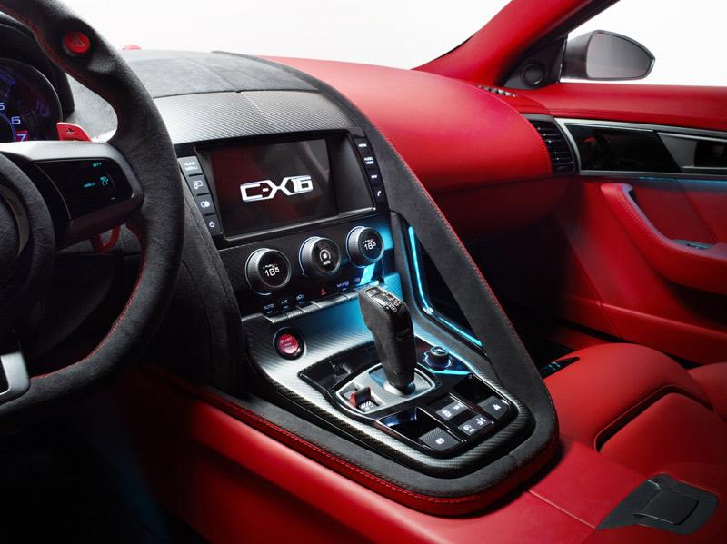 Jag C-X16 interior - E-Type - Howard Walker