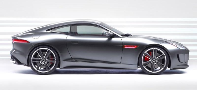 Jaguar's new E-Type, C-X16