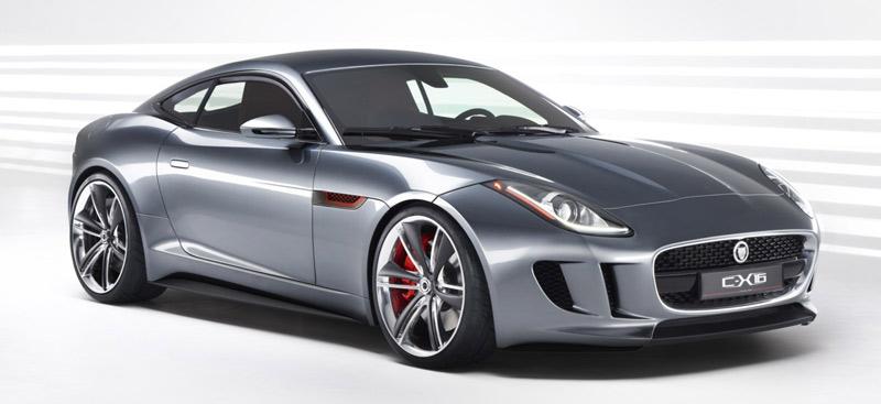 Jaguar C-X16 concept - new E-Type