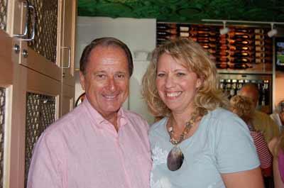 Jerry Thirion, Kathy Becker at Barbatella, Naples.