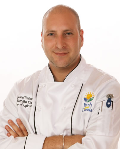 Chef Justin Timineri - Florida's Executive Chef - Florida Department of Agriculture and Consumer Services