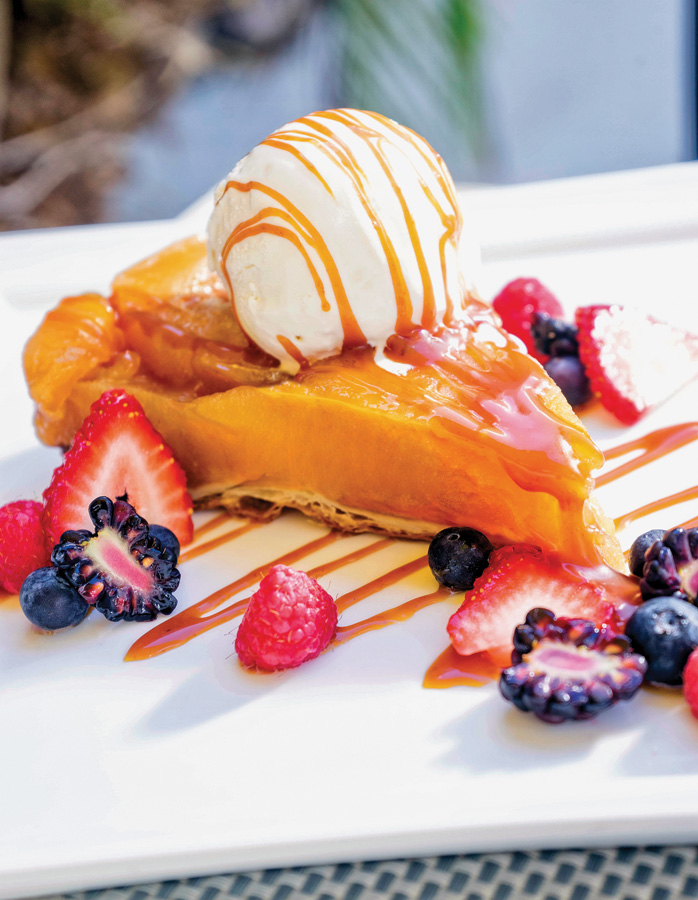 Naples Illustrated's Dining Awards - Best Dessert - La Tarte Tatin, La Bazenne on Fifth