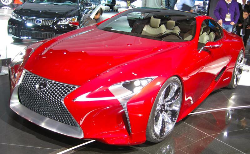 Lexus LF-LC concept car - Detroit Auto Show - Howard Walker - The Wheel World