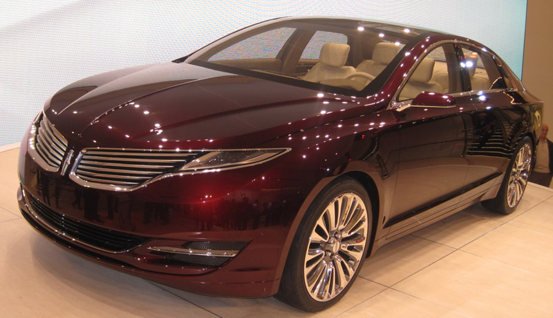 Licoln MKZ 2013 - The Wheel World's Top 10 from the Detroit Auto Show 2012