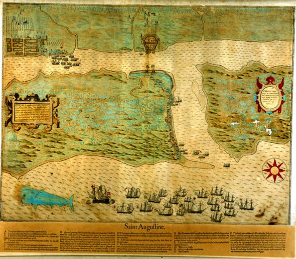 St. Augustine map