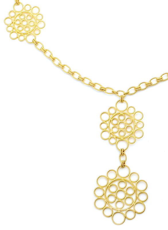 Buccellati - gold necklace - Provident Jewelry - fine jewelry - collectable