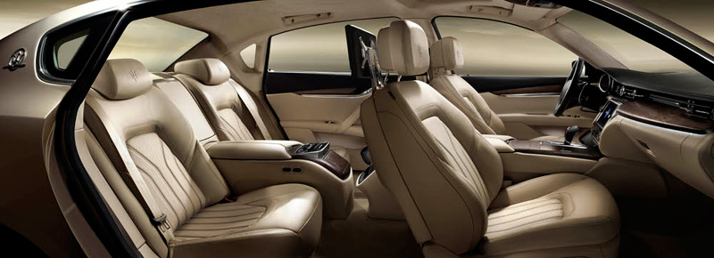 2013 Maserati Quattroporte - Thw Wheel World - luxury sports car - interior