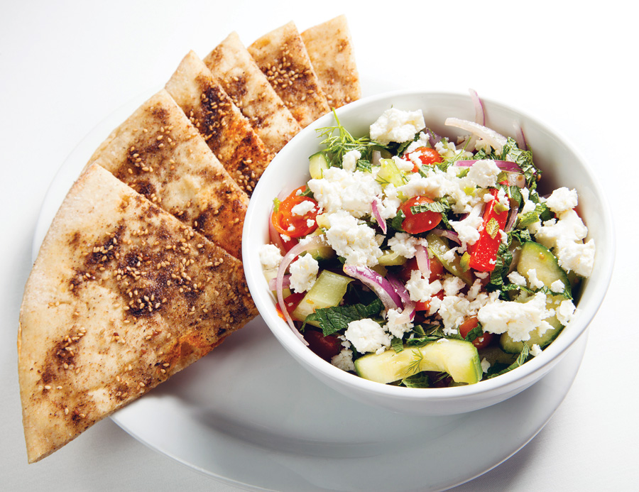 Naples Illustrated's Dining Awards - Best Healthy Cuisine - The Local - The Local's Mediterranean Flatbread