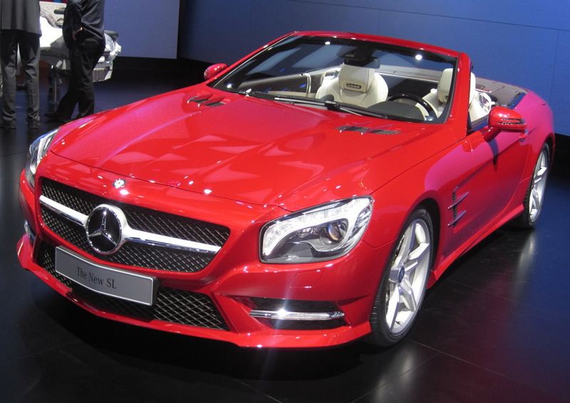 Mercedes-Benz SL - The Wheel World's Top 10 from the Detroit Auto Show 2012