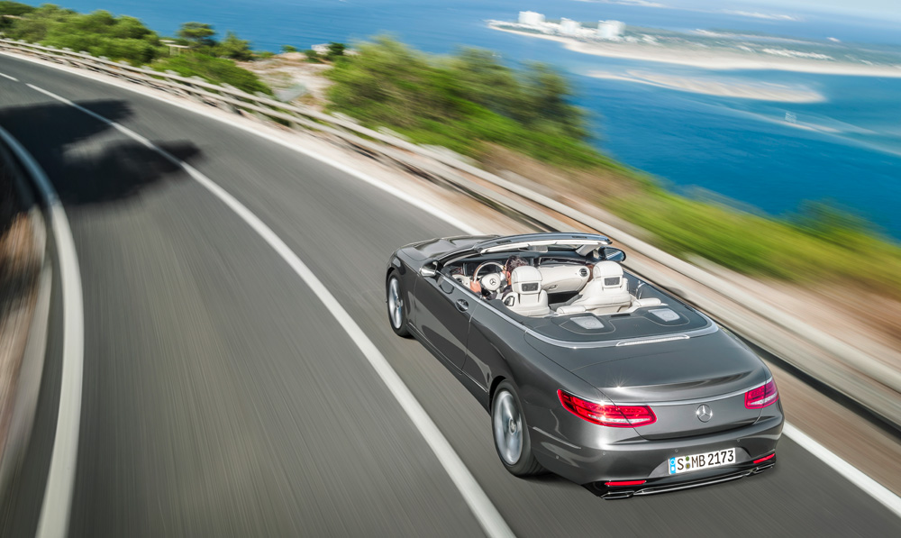 Mercedes-Benz S-Class Cabriolet - Top 10 Convertibles - Automotive Review with Howard Walker