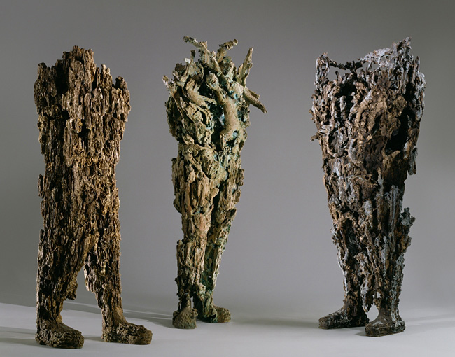 Strider, Salacia, and Colossus, Michele Oka Doner, 2008 Cast Bronze Collection: University of Michigan Museum of Art