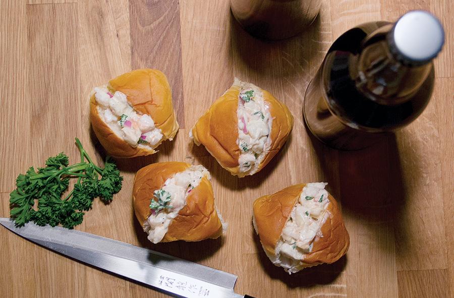 Mini Shrimp Rolls - Super Bowl 50 party recipes - Florida-inspired recipes for the Super Bowl
