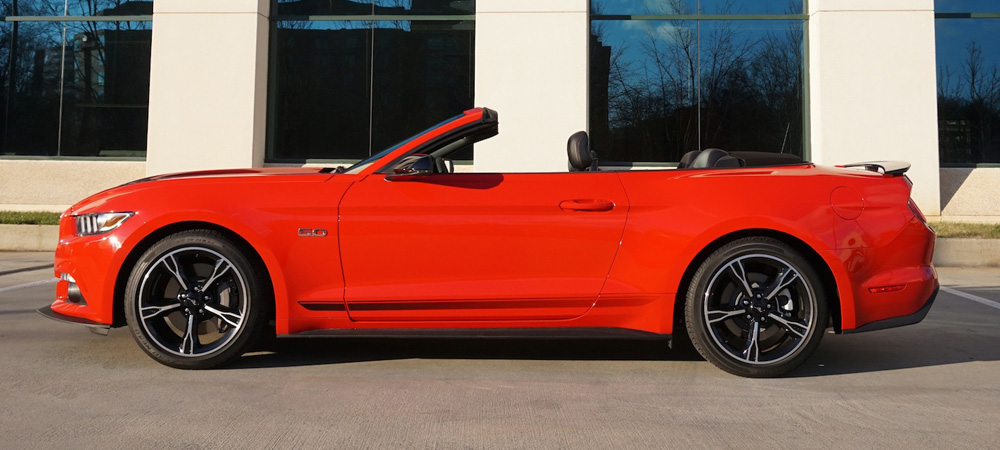 2016 Mustang GT Convertible - the California Special - automotive review with Howard Walker