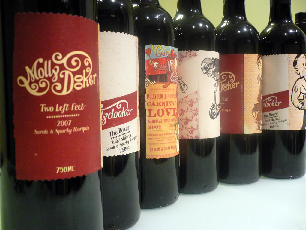 The wines of Mollydooker