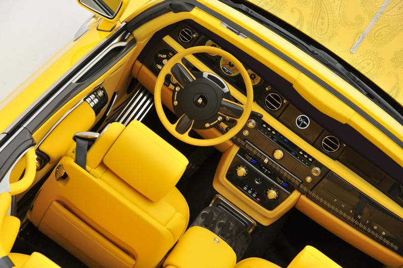Bijan - Yellow Rolls-Royce