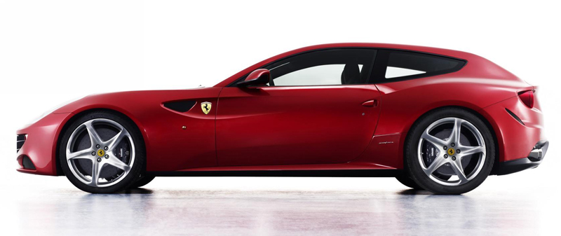 Ferrari FF - Palm Beach Illustrated