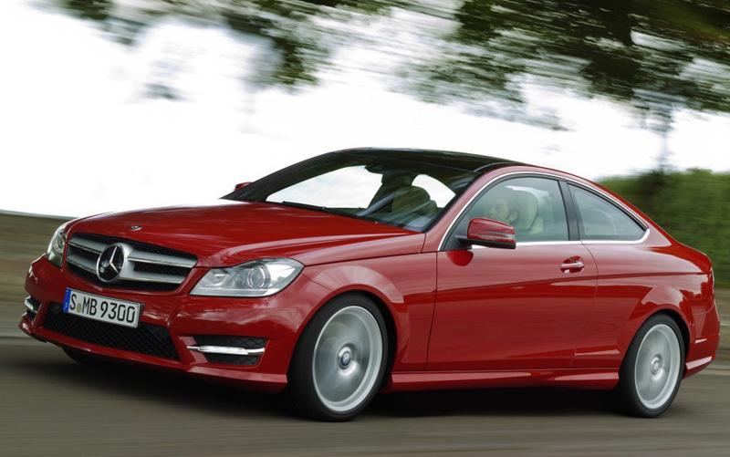 C-Class Coupe - Mercedes-Benz - Howard Walker
