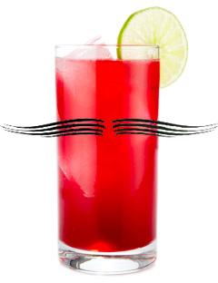 Peachface cocktail - Movember cocktails