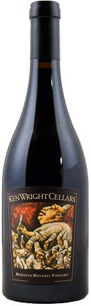 Valentine's Day wines - Pinot Noir, Ken Wright Cellars, Meredith Mitchell Vineyard, McMinnville, Oregon