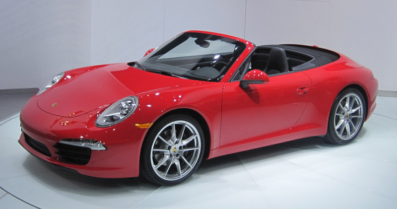 2013 Porsche 911 Cabriolet - The Wheel World's Top 10 from the 2012 Detroit Auto Show