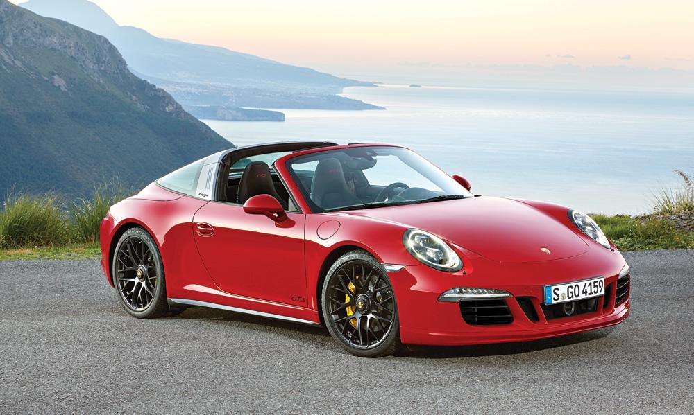 Porsche 911 Targa 4 GTS - Top 10 Convertibles with Howard Walker