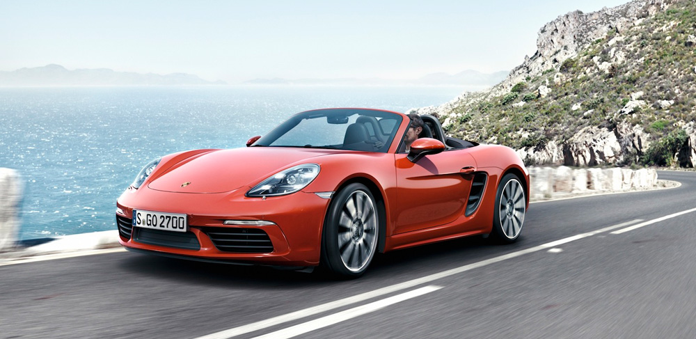 Porsche's new 718 Boxster S - automotive review of the new sporty roadster