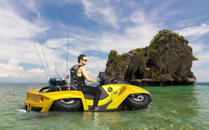Take the Quadski anywhere-except the sky