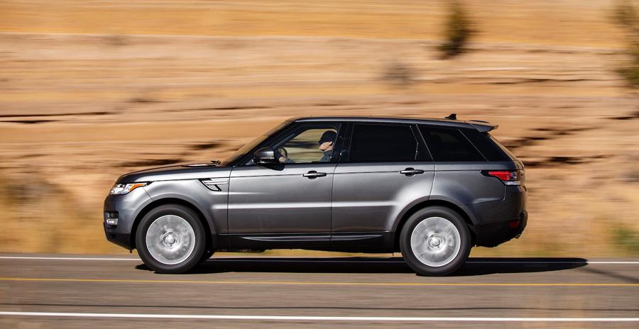 Range Rover Sport Td6, fuel efficient luxury diesel SUV