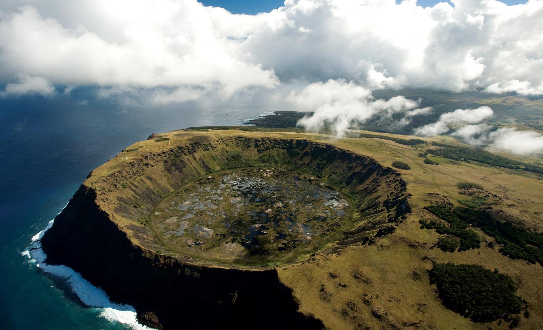 Rano-Kau-crater